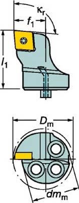 【代引不可】サンドビック コロターンSL コロターン107用カッティングヘッド(1本) 570SCLCL2009 6088864