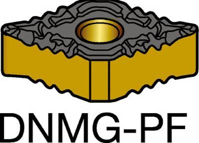 サンドビック T-Max P 旋削用ネガ・チップ 5015(10個) DNMG110404PF 6096671