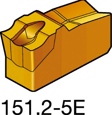 【代引不可】サンドビック T-Max Q-カット 突切り・溝入れチップ 1125(10個) R151.2300055E 6099483