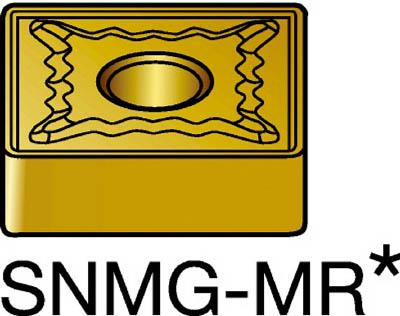 サンドビック T-Max P 旋削用ネガ・チップ 4235(10個) SNMG190612MR 3394280