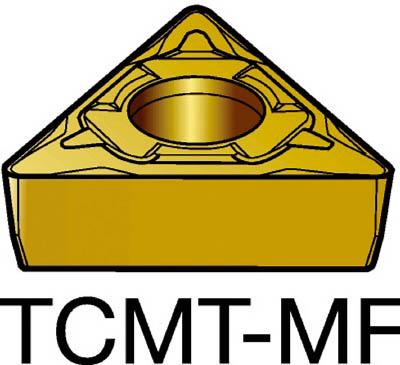 【代引不可】サンドビック コロターン107 旋削用ポジ・チップ 2015(10個) TCMT16T304MF 6066429