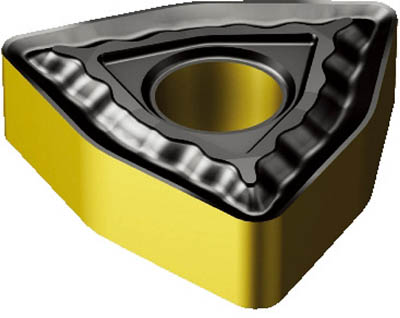 サンドビック T-Max P 旋削用ネガ・チップ(10個) WNMG080408QM 6108806