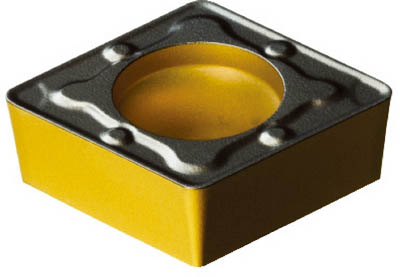 サンドビック コロターン107 旋削用ポジ・チップ(10個) CCMT09T308WM 6109098