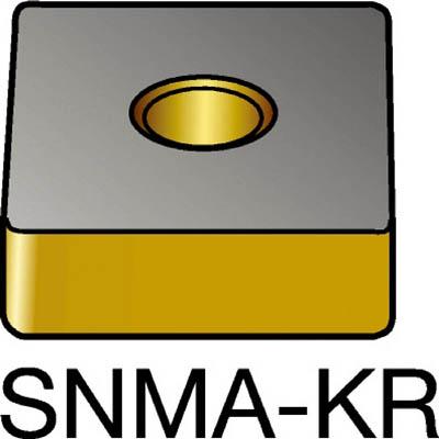 【代引不可】サンドビック T-Max P 旋削用ネガ・チップ 3210(10個) SNMA120412KR 6152180