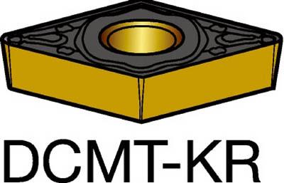 【代引不可】サンドビック コロターン107 旋削用ポジ・チップ 3210(10個) DCMT11T308KR 6190847