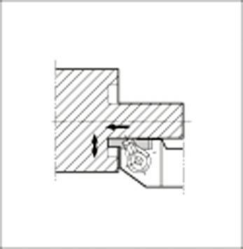 【代引不可】京セラ 溝入れ用ホルダ(1個) GFVSR2525MHB 6479260