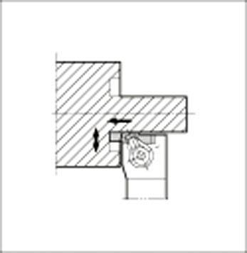 【代引不可】京セラ 溝入れ用ホルダ(1個) GFVTL2525MHB 6434665