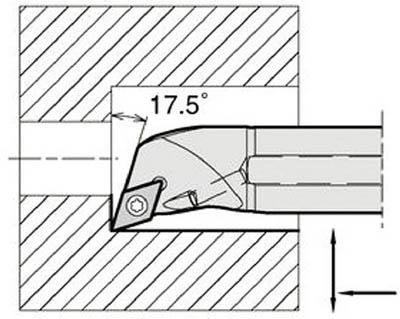 【代引不可】京セラ 内径加工用ホルダ(1個) A16QSDQCR0720AE 6465056