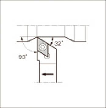 京セラ スモールツール用ホルダ(1個) SDJCR1616H11 1532618