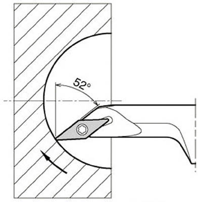 京セラ 内径加工用ホルダ(1個) S12MSVJCR0816A 6488471