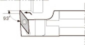 【代引不可】京セラ スモールツール用ホルダ(1個) S14HSVUCL08 6521029