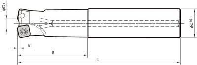 京セラ ミーリング用ホルダ(1本) MFH32S32102T 6546552