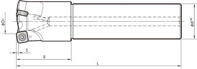 京セラ ミーリング用ホルダ(1本) MFH40S32103T 6546579