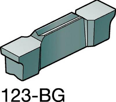 【代引不可】サンドビック コロカット2 突切り・溝入れブランクスチップ H13A(10個) N123E202700002BG 6943721