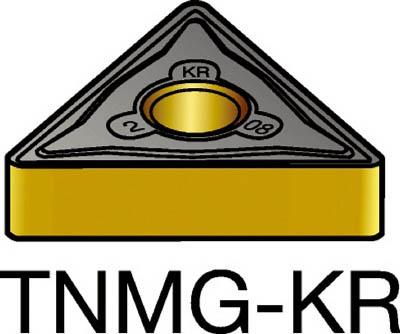 【代引不可】サンドビック T-Max P 旋削用ネガ・チップ 3210(10個) TNMG160408KR 6951830