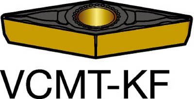 【代引不可】サンドビック コロターン107 旋削用ポジ・チップ 3215(10個) VCMT110304KF 6954804