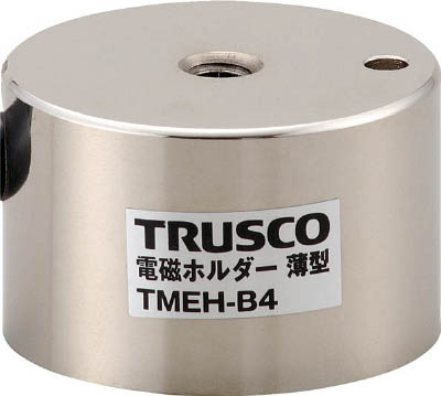 TRUSCO 電磁ホルダー 薄型 Φ40XH25(1台) TMEHB4 4158555
