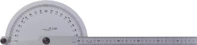 TRUSCO プロトラクター ステンレス 竿全長634(1個) TP400 2296942
