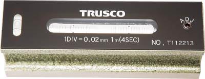 TRUSCO 平形精密水準器 B級 寸法150 感度0.02(1個) TFLB1502 2326701