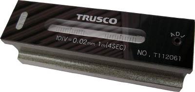 TRUSCO 平形精密水準器 B級 寸法300 感度0.05(1個) TFLB3005 2630915