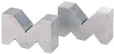 OSS A型ヤゲン台(Vブロック)(1組) 126150K 3540219