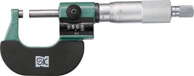 SK カウントマイクロメータ(1台) MC12250C 3775666