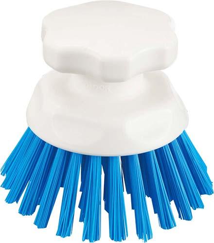 CONDOR:HG ハンドブラシ丸型 ブルー(耐熱 水回り 掃除)