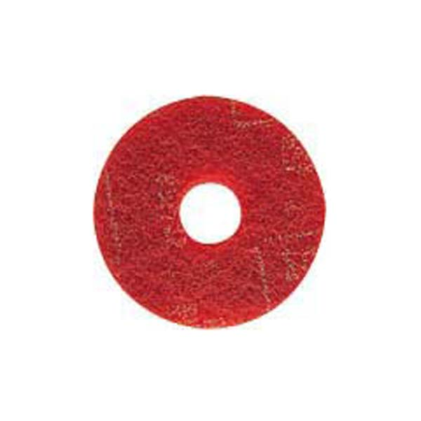 (保守用) コンドル 山崎産業 51ラインフロアパッド13赤 E-17-13-R (5枚) (ポリシャー用パッド) 1パック