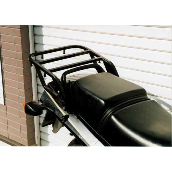 RIDING SPOT(ライディングスポット):リアキャリア BLK GPZ900/750R ALL