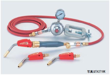 TASCO(タスコ):ワンタッチ着火式 アセチレンバーナー (フルカプラー式 Φ6.4、Φ7.9、Φ9.5 3.6M) TA371HK