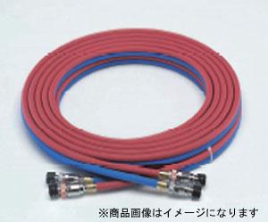 溶接カプラー 太タイプ 4528422186950 TASCO(タスコ):ツインホース (太タイプカプラ付)(アセチレン、サンソ 30M) TA381C-30A