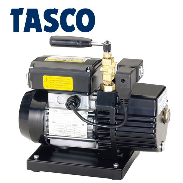 TASCO(タスコ):オイル逆流防止機能付 高性能真空ポンプ ケース付 TA150FX-B
