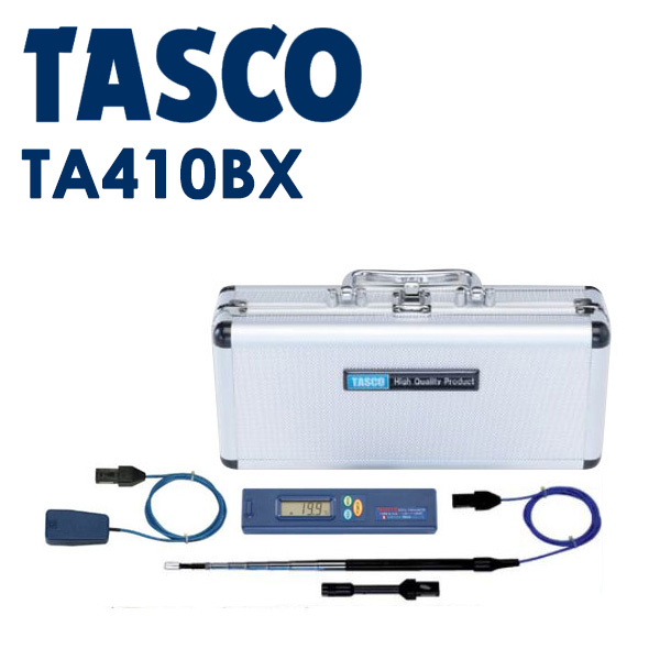 TASCO(タスコ):デジタル温度計デラックスセット TA410BX