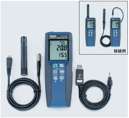 TASCO(タスコ):データロガー温湿度計 TA411PC