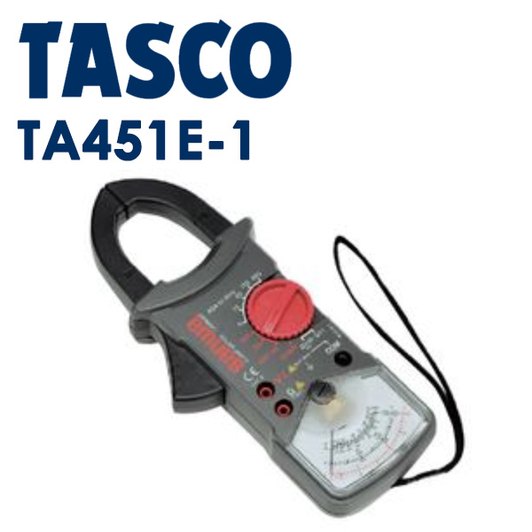 TASCO (タスコ):アナログクランプテスタ(6/15/60/150/600A) TA451E-1