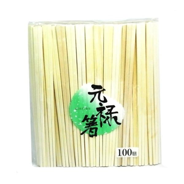 【代引不可】中村:ベトナム元禄箸 (裸) 4000膳[100膳×40袋] 4976187894403-50
