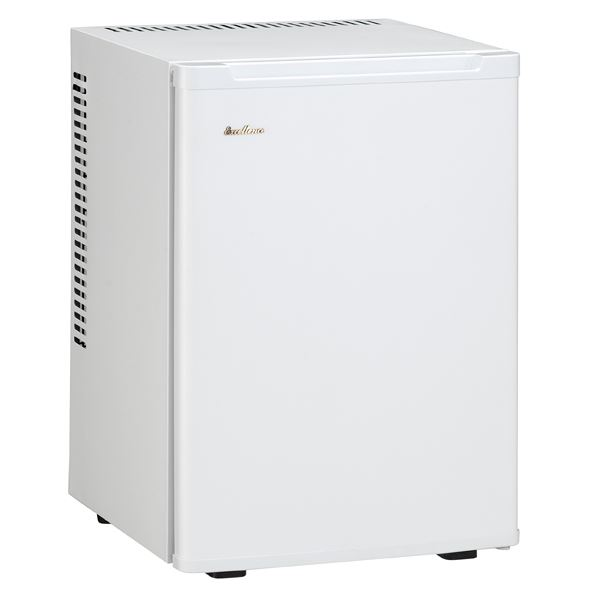 三ツ星貿易:冷蔵庫ペルチェ式 40L ホワイト ML-640W