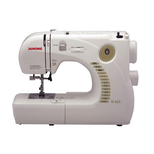 蛇の目ミシン工業:電子制御ミシン N265 蛇の目ミシン ジャノメミシン N265
