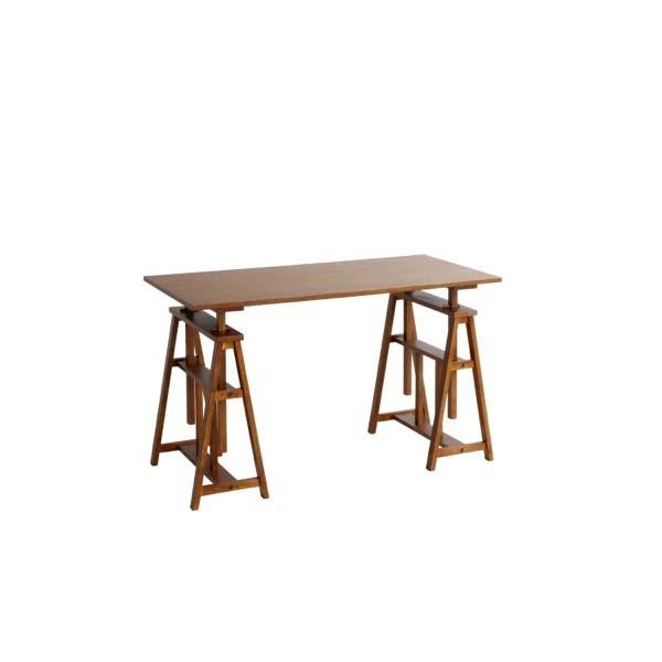 【代引不可】市場:hommage Atelier Table HMT-2665BR