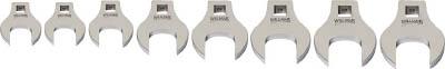 WILLIAMS 3/8ドライブ クローフットレンチ セット(9~16mm)(1S) JHW10790 7573707