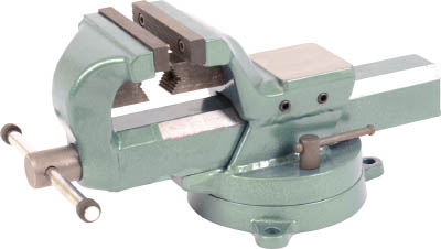国内初の直営店 TRUSCO 4456432:イチネンネット TSLV175 175mm(1台) 回転台付リードバイス(強力型・角胴シャフト)-DIY・工具