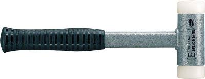 ハルダー スーパークラフトハンマー スティール製ハンドル付ナイロン(白) 頭径4(1本) 3377.045 4818351