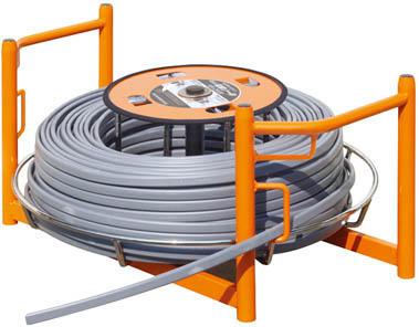 育良 電線リール ISK-CR430(1台) ISKCR430 4942248