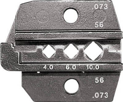 RENNSTEIG 圧着ダイス 624-073 コネクターコンタクト 4.0-1(1組) 62407330 7665318