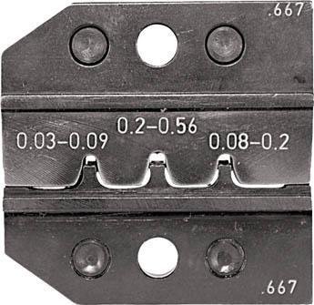 RENNSTEIG 圧着ダイス 624-667 ピンコンタクト 0.03-0.2(1組) 62466730 7665423