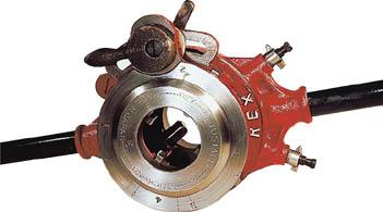 REX ラチェット式オスタ型パイプねじ切り器 112R(1台) 112R 1227530