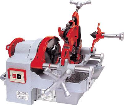 【代引不可】REX 自動切上ダイヘッド付パイプマシン S40A3(1台) S40A3 2981661