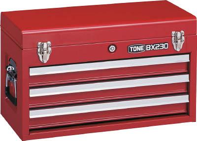 TONE ツールチェスト 508X232X302mm(1個) BX230 3904300