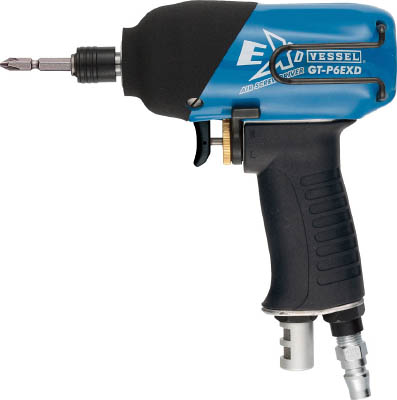 エアインパクトドライバー(油注式) 4907587305268 ベッセル 衝撃式エアードライバーGTP6EXD(1台) GTP6EXD 3325016
