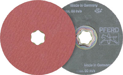 PFERD ディスクペーパー コンビクリック酸化アルミナ COOLタイプ(25枚) 836149 7653247